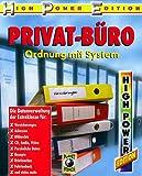 Privat-Büro, 1 CD-ROMOrdnung mit System. Die Datenverwaltung der Extraklasse für Versicherungen, Adressen, Bildarchiv, CD, Audio, Video, Persönliche Daten, Rezepte, Briefmarken, Fahrtenbuch und vieles mehr für Windows 95/98/