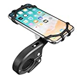 aimdonr [360° seguro Visión] Motorcycle MTB Teléfono Holder ajustable soporte de teléfono móvil para iPhone X/8/8plus/7/7Plus/6S, Galaxy S8/S7/Note 8/5Huawei P20/P10/Mata 10/9