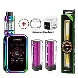 SMOK G Priv 2 Kit Luxe Edizione (Rainbow) 230W Mod con TFV12 P-Tank EU 2mL SMOK GPRIV 2 LUXE Sigaretta Elettronica Senza Nicotina + Extra Tubo di Vetro batterie Luce USB ...