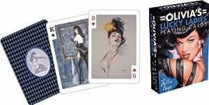 Bettie Page Spielkarten Olivia