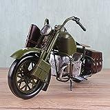 RJJ Vintage Eisen-Motorrad-Modell-Fenster-Anzeige Requisiten Hauptdekorationen Kreative Geschenke...