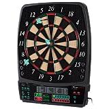 UItrasport Dartboard elektronisch, Classic Dartboard für 8 Spieler, 28 Spiele, 167 Varianten / elektronische Dartscheibe inklusive 12 Softpfeile, Dartspiel mit LED-Anzeige - 7