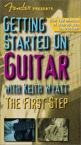 Preisvergleich Produktbild Fender Presents Getting Started on Guitar: The First Step [VHS]