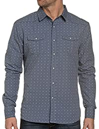 BLZ jeans - Chemise Imprimée De Couleur Bleue