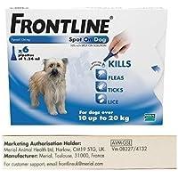 Frontline Spot On 6 Pipettes for Medium 10-20 kg Dogs - AVM-GSL