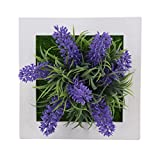 Zantec Accessori decorativi,Piante e fiori artificiali,quadro fiore,Cornice Foto Home Decor Design