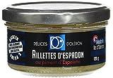 Délice d'Oléron Rillettes d'Espadon aux Piments d'Espelette 120 g - Lot de 8