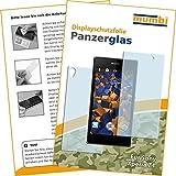 2x mumbi Panzerfolie für Sony Xperia Z1 Glasfolie Hartglas 9H (1 x VORNE und 1 x RÜCK Folie)