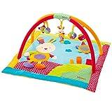 Babysun Nursery Tapis d'Eveil à Arceaux Lapinou Multicolore