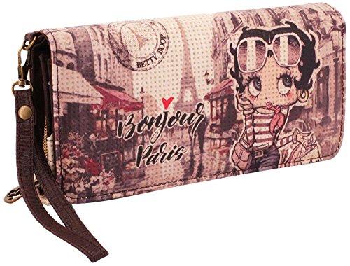 Karactermania Betty Boop Streets-Long Wallet Münzbörse, 20 cm, Beige