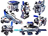 Magicwand 7-in-1 DIY Rechargeable Solar Space Robot Science Educational Kit