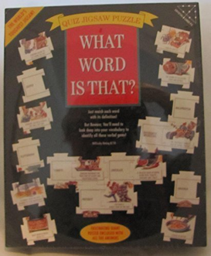What Word is That Quiz Jigsaw Puzzle 504 pieces by Crystal Lines