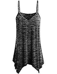 Damark(TM) Ropa Camiseta sin Mangas Tank Tops para Mujeres, Verano Sexy Deporte