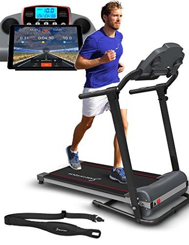 Hometrainer - Sportstech F10 Laufband mit Smartphone App Steuerung