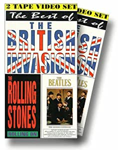 Beatles & Rolling Stones [VHS]