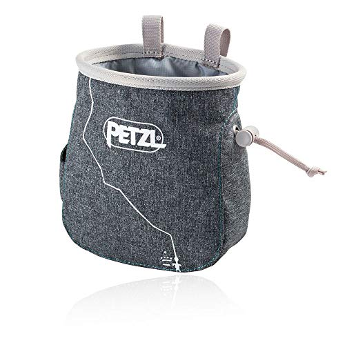 Petzl Erwachsene Saka Chalkbag, Grau, Uni -