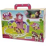 Pet Parade - Pony, playset rancho con 1 pony (Giochi Preziosi PTN03000)
