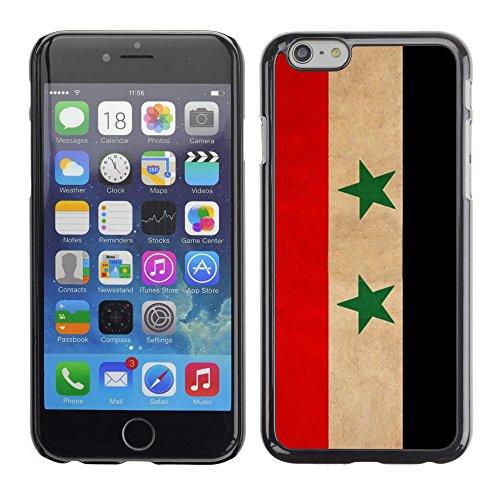 Graphic4You Vintage Uralt Flagge Von Iran Iraner Design Harte Hülle Case Tasche Schutzhülle für Apple iPhone 6 / 6S Syrien Syrer