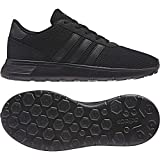 adidas Unisex-Kinder LITE Racer K Sneaker, Mehrfarbig (Black 001),38 EU