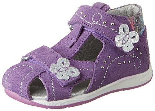 Däumling Baby Mädchen Katharina Lauflernschuhe, Violett (Turino lavendel28), 23 EU (Lavendel Mädchen Schuhe)