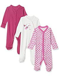 Mothercare Unisex Sleepsuit (Pack of 3)
