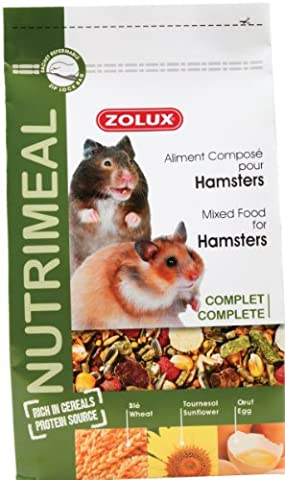 Hamster Russe - NUTRIMEAL HAMSTER Sac de 600 g mélange