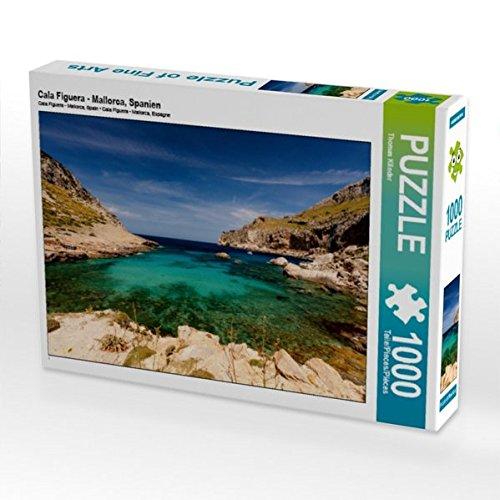 Cala Figuera - Mallorca, Spanien 1000 Teile Puzzle quer