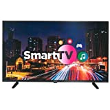 MAGNA - Televisión LED de 40 Pulgadas Smart TV LEDSERIES40, TFT LCD LED 40',WiFi, Full HD, TDT HD T2 Integrado, HDMI, USB