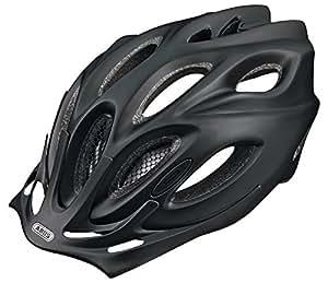 ABUS Fahrradhelm Aduro, Schwarz(black matt), 54-58 cm, 52023