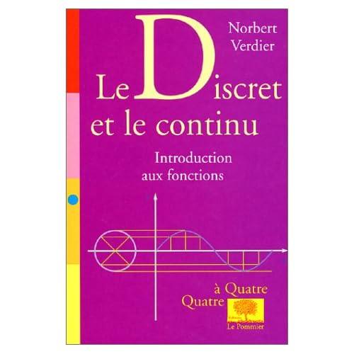 Le discret et le continu : Introduction aux fonctions