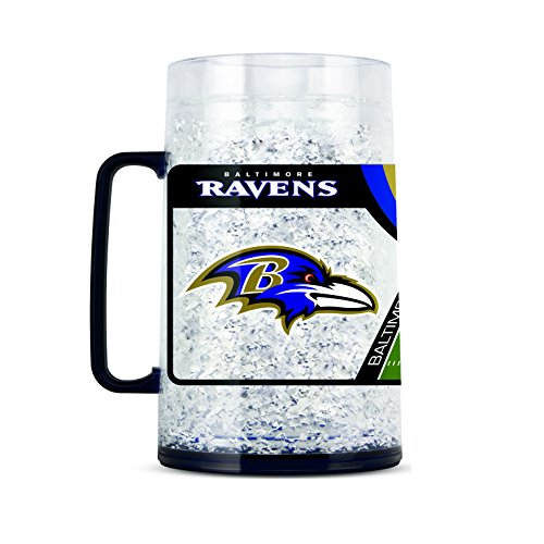 Duck House NFL Baltimore Ravens 36-Ounce Kristall Gefrierschrank Monster Tasse