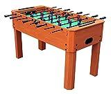 HLC®Mesa de Futbolín (de madera) Buen regalo para los niños y Ideal jugar juntos con los familiares!