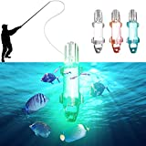 Gorgebuy Unterwasser Meerwasser LED-Lampen-Nacht zieht Fische / Licht-Dock-dekorative helle Fischen-Köder-Licht / Garnelen Fischerei lockt (farbe zufällig)