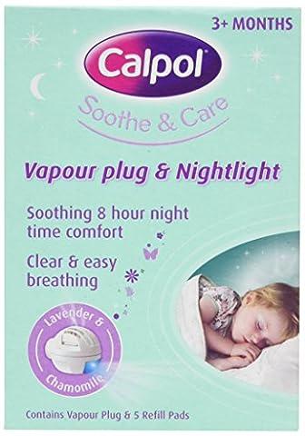 Calpol Soothe & Care Vapour Plug & Nightlight