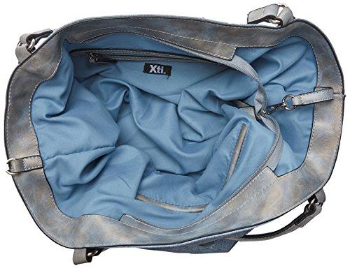 XTI - 85954, Borse a mano Donna Blu (Jeans)