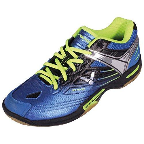 VICTOR SH-A920 Indoor Sportschuh / Badmintonschuh / Squashschuh / Hallenschuh, Blau, Größe 45,5