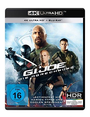 G.I. Joe - Die Abrechnung (4K Ultra HD) (+ Blu-ray 2D)