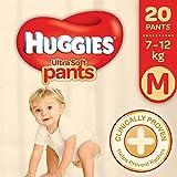Huggies Ultra Soft Pants Premium M Diapers (20 Pieces)