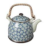 Black Temptation Japanese Style Porcelaine Teapot avec Filtre Plum Blossom 950...