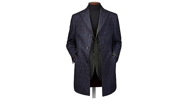 Mantel Marineblau Epsom Aus In Wolle Mit Deckkaro sCBhQxotdr