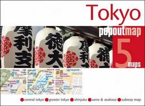 Tokyo Popout Map (Popout Maps)