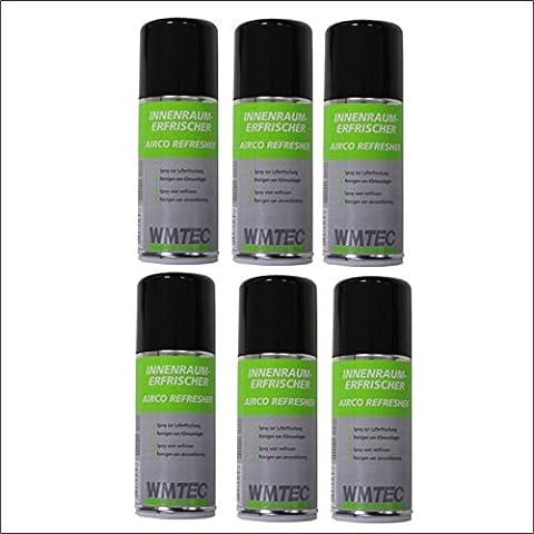 6x WM Tec Clima pulitore detergente per condizionatore d' aria aereo Airco rinfrescante 150ml = 900ml