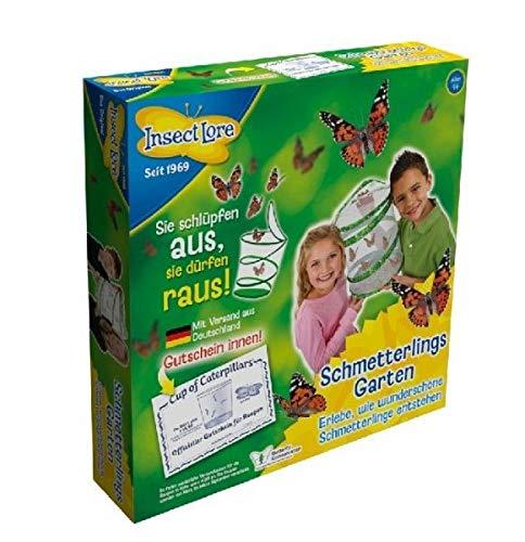 Insect Lore 48117 Pre-Paid-Schmetterlingsgarten (inkl. Gutschein), 5 Distelfalter