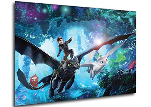 Instabuy Poster Locandina - Dragon Trainer 3 - Variant (Manifesto 70x50)
