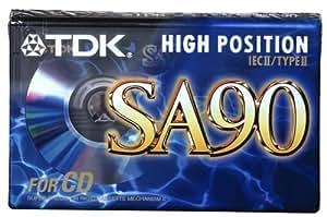 TDK SA 90 E Audio-Kassette (90min)