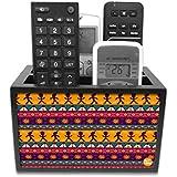 Nutcase Designer Wooden Remote Control Holder Stand Organizer for TV/AC Remote - Classic Designer