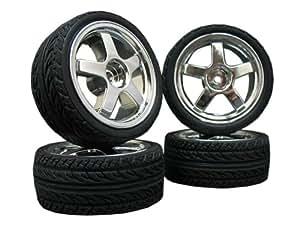 4x Onroad Reifen Felgen FR 1/10 Custom !! Design/Farbe wählbar