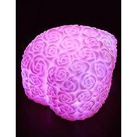 XXTT-notte 7 colori LED Rosa decorazione lume di candela rosa luce del tè della lampada decorazione di nozze