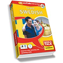 World Talk Learn Swedish: Improve Your Listening and Speaking Skills - Intermediate (PC/Mac)