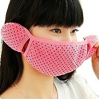 HugeStore 2 Stück Damen Frauen Winter Tupfen Baumwolle Anti Staub Mundschutz Maske Mundschutzmaske mit Ohrenschützer... preisvergleich bei billige-tabletten.eu